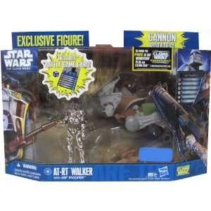 Star Wars Clone Wars 2011 Exclusive Vehicle Action Figure Pack ATRT