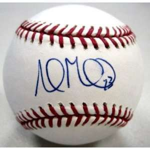 Ball   Official Ml W coa   Autographed Baseballs: Sports Collectibles