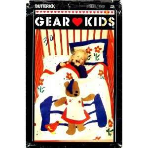 Sewing Pattern Crib Quilt Pajama Bag Bear Toy: Arts, Crafts & Sewing