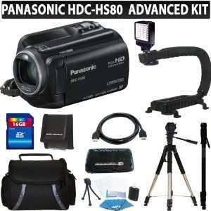 Panasonic HDC HS80K HD HDD Camcorder (Black) + 16GB