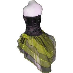 Sequins Tutu Skirt Peacock Punk Rave Dance Fancy Costume Dress Party