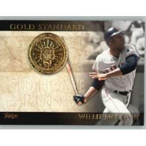 2012 Topps Gold Standard #GS9 Willie McCovey   San Francisco Giants