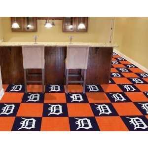 Exclusive By FANMATS MLB   Detroit Tigers Carpet Tiles