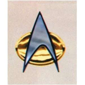 STAR TREK KLINGON COMM BADGE: Toys & Games