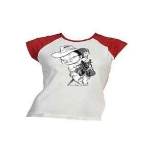 Horse Design Asian Girl Red Tee    DISCONTINUED Electronics