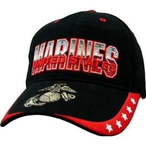 US Marine Corps EGA and Stars Ball Cap: Everything Else