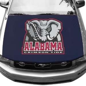 Alabama Crimson Tide AutoGlove Hood Cover Sports