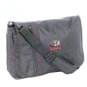 Luggage Alabama Crimson Tide Black Messenger Bag