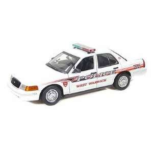 Ford Crown Victoria West Warwick, RI Police Car 1/18 Toys