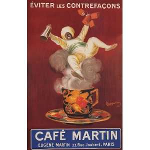 EUGENE CAFE COFFEE MARTIN PARIS FRANCE FRENCH VINTAGE
