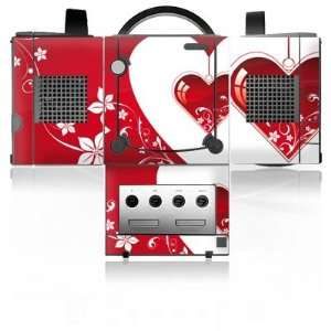 Design Skins for Nintendo Gamecube   Christmas Heart