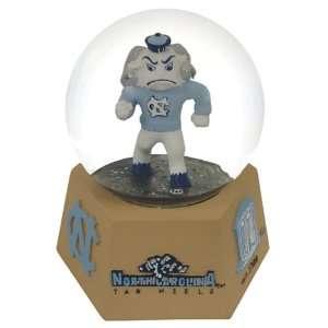 North Carolina Tarheels Mascot Musical Snow Globe