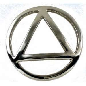 AA Triangle Gas Cap Cover for stock Harley Davidson