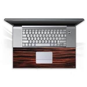 MacBook Pro 17 Tastatur   Holz 1 Notebook Laptop Vinyl Sticker