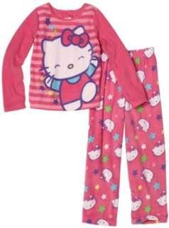 AME Sleepwear Girls 7 16 Hello Kitty Stars Set Clothing