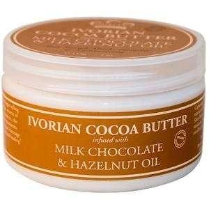 Nubian Heritage   Shea Butter Ivorian Cocoa   4 oz Beauty