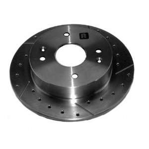 Series STS96708R Right Rear Disc Brake Rotor Only High Performance