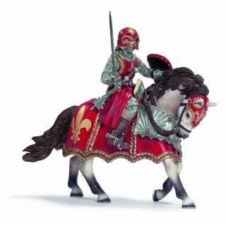 Schleich Fleur De Lis Knight with Lance of Horse: Toys