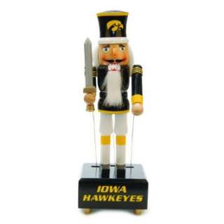 12 NCAA Iowa Hawkeyes Wind Up Musical Christmas