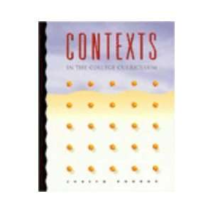Contexts in the College Curriculum: A Reading Skills Text