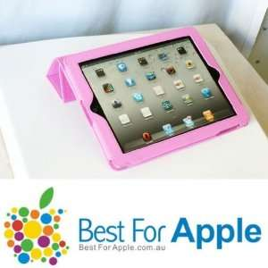 magnetic Smart Cover case for iPad 2   Pink