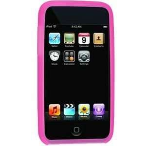 Apple iPod Touch 2G/3G Silicone Case (Hot Pink) Electronics