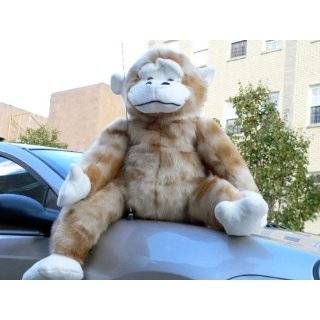 GIANT STUFFED MONKEY 40 BIG PLUSH HUGE GORILLA APE JUMBO BIG STUFFED