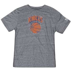 New York Knicks Hardwood Classics Retro Logo Tri Blend T