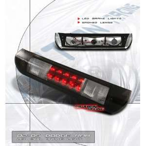Dodge Ram Led Tail Lights Euro Smoked Lense LED Third Brake Light 2002