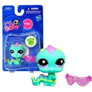 Hasbro Year 2010 Littlest Pet Shop Single Pack Series Bobble Head Pet