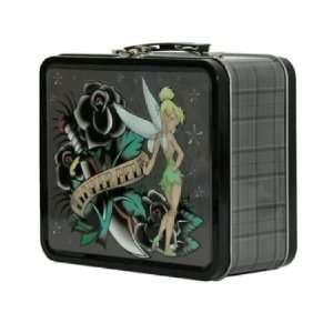 TATTOO ART DISNEYS TINKERBELL METAL LUNCH BOX Office Products