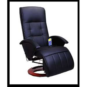 Black Office TV Recliner Massage Chair