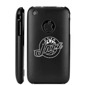 Apple iPhone 3G 3GS Black Aluminum Metal Case Utah Jazz