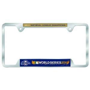 MLB Milwaukee Brewers 2011 National League Champion Metal License