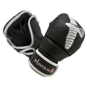 Hayabusa Pro Hybrid MMA Gloves (Black): Sports & Outdoors