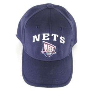 New Jersey Nets NBA Flex Fit Navy Blue Hat