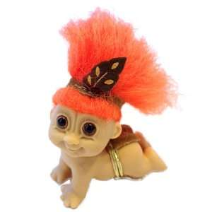 My Lucky Mini 2.5 Crawling BABY INDIAN Troll Doll: Toys & Games