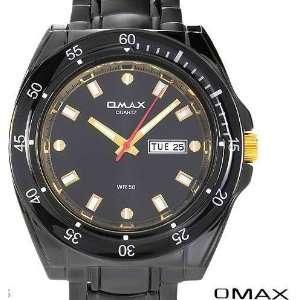 Designer Classic OMAX Ladies Waterproof Gold Plated Crystal Bracelet
