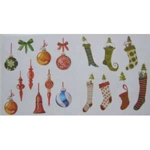and Ornaments Peel and Stick Vinyl Wall Decals