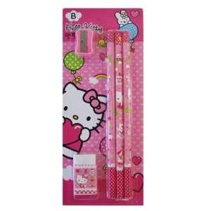 Hello kitty pencils / Pencil Sharpner Set (5pcs Pack) [Toy]  Toys