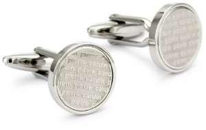 Pierre Cardin Cardin Mens Cufflinks Jewelry