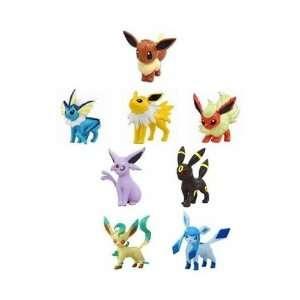 Pokemon Eevees Evolution 2 Mini Figure Bundle: Eevee