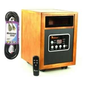 Dr. Heater USA 1500W Dual System Portable Quartz Infrared Heate