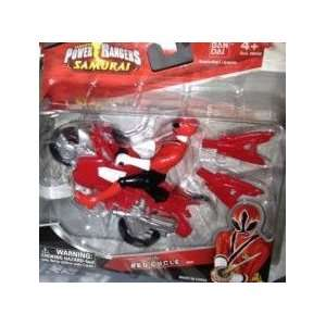 Power Rangers Samurai Mini Red Cycle Toys & Games