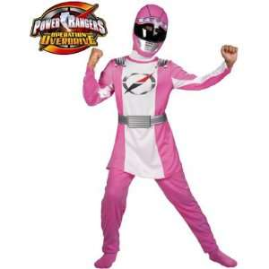 Child Pink Power Rangers Operation Overdrive Costume Toys