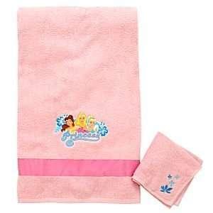 Disney Princess Towel Set    2 Pc.