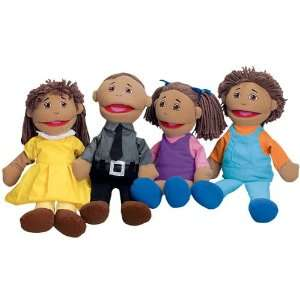 Full Bodied Open Mouth Puppets   Latino Family Toys & Games