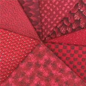 Fat Quarters Monet Dark Red By The Each Arts, Crafts