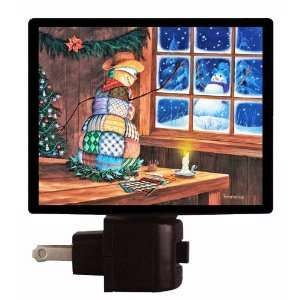 Patches   Christmas & Holiday Quilting LED NIGHT LIGHT