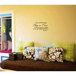 wall art Inspirational quotes and saying home decor decal sticker